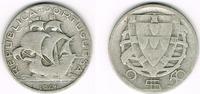 2 1/2 Escudos 1943 Portugal Portugal, 2 1/2 Escudos Kursmünze Segelschi... 4,50 EUR  zzgl. 5,00 EUR Versand