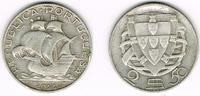 2 1/2 Escudos 1944 Portugal Portugal, 2 1/2 Escudos Kursmünze Segelschi... 5,00 EUR  zzgl. 5,00 EUR Versand