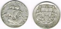 2 1/2 Escudos 1948 Portugal Portugal, 2 1/2 Escudos Kursmünze Segelschi... 14,00 EUR  zzgl. 5,00 EUR Versand