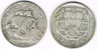 2 1/2 Escudos 1951 Portugal Portugal, 2 1/2 Escudos Kursmünze Segelschi... 5,00 EUR  zzgl. 5,00 EUR Versand