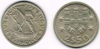 2 1/2 Escudos 1964 Portugal Portugal, 2 1/2 Escudos Kursmünze Segelschi... 7,00 EUR  zzgl. 5,00 EUR Versand