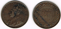 1 Cent 1917 Kanada Kanada 1917, Kursmünze 1 Cent, Georg V., Erhaltung s... 3,50 EUR  zzgl. 5,00 EUR Versand