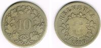 10 Rappen 1850 Schweiz Schweiz, Kursmünze 10 Rappen 1850, Erhaltung sie... 4,50 EUR  zzgl. 5,00 EUR Versand
