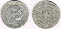 5 Kronen 1900 Österreich-Ungarn Ungarn, Kursmünze 5 Kronen 1900, Kaiser... 15,00 EUR  zzgl. 5,00 EUR Versand
