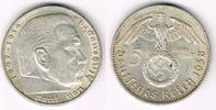 5 Reichsmark 1938 A Drittes Reich Drittes Reich, 5 Reichsmark 1938 A, H... 12,50 EUR  zzgl. 5,00 EUR Versand