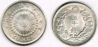 50 Sen 1906 Japan Japan, Kursmünze, 50 Sen 1906, siehe Scan vorzüglich ... 99,00 EUR  zzgl. 5,00 EUR Versand