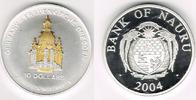 10 Dollars 2003 Bank of Nauru Nauru 2004, 10 Dollars, Skulpturmünze Fra... 49,00 EUR  zzgl. 5,00 EUR Versand