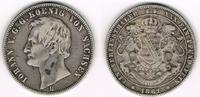 Taler (Vereinstaler) 1861 B Altdeutschland - Sachsen Johann, Taler 1861... 75,00 EUR  zzgl. 5,00 EUR Versand