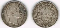 1 Gulden 1841 Bayern Bayern, König Ludwig I., Kursmünze 1 Gulden 1841, ... 37,50 EUR  zzgl. 5,00 EUR Versand