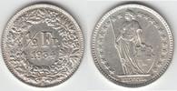 1/2 Franken 1934 Schweiz Schweiz, Kursmünze Silber, 1/2 Franken 1934 B,... 6,00 EUR  zzgl. 5,00 EUR Versand