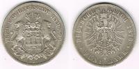 5 Mark 1876 J Hamburg Kaiserreich, Hamburg, 5 Mark 1876 J, Stadtwappen,... 33,00 EUR  zzgl. 5,00 EUR Versand