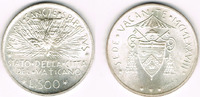 500 Lire 1978 Vatikan Vatikan, Silbermünze Erste Sede Vacante Ausgabe 1... 17,00 EUR  zzgl. 5,00 EUR Versand