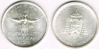500 Lire 1978 Vatikan Vatikan, Silbermünze Zweite Sede Vacante Ausgabe ... 17,00 EUR  zzgl. 5,00 EUR Versand
