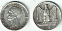 5 Lire 1927 Italien Italien 1927 5 Lire, Victor Emanuel III, Erhaltung ... 9,00 EUR  zzgl. 5,00 EUR Versand
