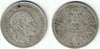 20 Kreuzer 1868 Haus Habsburg - Österreich Franz Joseph I., 20 Kreuzer ... 6,00 EUR  zzgl. 5,00 EUR Versand