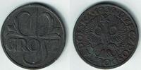 1 Grosz 1939 Generalgouvernement - Polen im 2. Weltkrieg Kursmünze 1 Gr... 5,00 EUR  zzgl. 5,00 EUR Versand