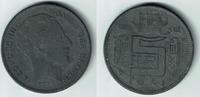 5 Francs 1941 Belgien Belgien König Leopold III., 5 Francs 1941, Kursmü... 6,00 EUR  zzgl. 5,00 EUR Versand