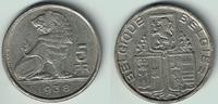 5 Francs 1938 Belgien Belgien König Leopold III., 5 Francs 1938, Kursmü... 4,00 EUR  zzgl. 5,00 EUR Versand