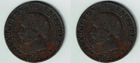 5 Centimes 1855 BB Frankreich Frankreich, 5 Centimes, 1855 BB, Napoleon... 4,00 EUR  zzgl. 5,00 EUR Versand