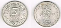 5 Mark 1925 A Weimarer Republik 5 Mark Silber-Gedenkmünze 1925 A,  Jahr... 85,00 EUR  zzgl. 5,00 EUR Versand