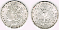 Dollar 1896 USA USA, Morgan Dollar 1896, Erhaltung siehe Scan! vorzügli... 28,00 EUR  zzgl. 5,00 EUR Versand