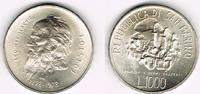 1000 Lire 1978 San Marino San Marino 1981, 1000 Lire, 'Leo Tolstoi', Er... 13,50 EUR  zzgl. 5,00 EUR Versand