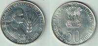 50 Rupien 1975 Indien Silbergedenkmünze FAO - Equality, Development, Pe... 28,00 EUR  zzgl. 5,00 EUR Versand