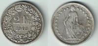 2 Franken 1903 Schweiz Schweiz, Kursmünze Silber, 2 Franken 1903 B, Erh... 10,00 EUR  zzgl. 5,00 EUR Versand