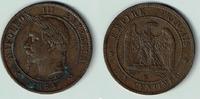 10 Centimes 1864 K Frankreich Frankreich, 10 Centimes, 1864 K, Napoleon... 25,00 EUR  zzgl. 5,00 EUR Versand