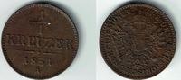 1/4 Kreuzer 1851 A Haus Habsburg - Österreich Franz Joseph I., 1/4 Kreu... 5,00 EUR  zzgl. 5,00 EUR Versand