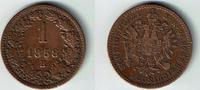 1 Kreuzer 1858 B Haus Habsburg - Österreich Franz Joseph I., 1 Kreuzer ... 6,00 EUR  zzgl. 5,00 EUR Versand