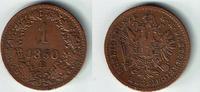 1 Kreuzer 1860 B Haus Habsburg - Österreich Franz Joseph I., 1 Kreuzer ... 4,50 EUR  zzgl. 5,00 EUR Versand