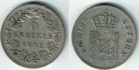 6 Kreuzer 1852 Bayern Bayern, König Maximilian II. , Kursmünze 6 Kreuze... 8,00 EUR  zzgl. 5,00 EUR Versand