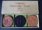 3 Porzellanmedaillen (2. Serie) 1922 Schwäbisch Hall Hällische Historis... 79,00 EUR  zzgl. 5,00 EUR Versand