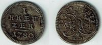 1 Kreuzer 1786 Nürnberg 1 Kreuzer 1786, Nürnberg, Stadtwappen/Doppeladl... 20,00 EUR  zzgl. 5,00 EUR Versand