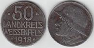 50 Pfennig 1918 Notmünzen / Notgeld Weißenfels Landkreis Weissenfels, 5... 6,50 EUR  zzgl. 5,00 EUR Versand
