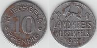 10 Pfennig 1918 Notmünzen / Notgeld Weißenfels Landkreis Weissenfels, 1... 3,00 EUR  zzgl. 5,00 EUR Versand