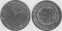 25 Pfennig 1917 Notgeld / Notmünzen Haan Gartenstadt Haan, 25 Pfennig 1... 6,00 EUR  zzgl. 5,00 EUR Versand