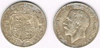 Half Crown 1923 Großbritannien Half Crown 1922, Georg V., 14,14 g 500er... 15,00 EUR  zzgl. 5,00 EUR Versand