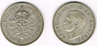 1 Florin (Two shilling) 1940 Großbritannien Florin (Two shilling) 1946,... 6,00 EUR  zzgl. 5,00 EUR Versand
