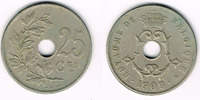 25 Centimes 1909 Belgien Belgien, Kursmünze 25 Centimes 1909, Erhaltung... 3,00 EUR  zzgl. 5,00 EUR Versand