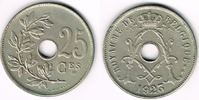25 Centimes 1927 Belgien Belgien, Kursmünze 25 Centimes 1927, Erhaltung... 2,50 EUR  zzgl. 5,00 EUR Versand