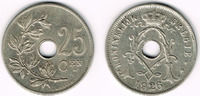 25 Centimes 1926 Belgien Belgien, Kursmünze 25 Centimes 1926, Erhaltung... 3,00 EUR  zzgl. 5,00 EUR Versand