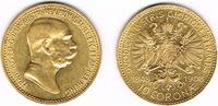 10 Kronen 1908 Österreich Kursmünze 10 Kronen 1908, Gold, '60. Regierun... 145,00 EUR  zzgl. 5,00 EUR Versand