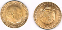 50 Franken 1961 Liechtenstein Goldmünze 50 Franken 1961, Franz Josef II... 499,00 EUR  zzgl. 4,00 EUR Versand