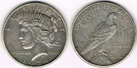 Dollar 1934 USA Peace Dollar 1934, Erhaltung siehe Scan! sehr schön, kl... 30,00 EUR  zzgl. 5,00 EUR Versand