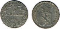 3 Kreuzer 1845 Altdeutschland - Hessen-Darmstadt Großherzogtum Hessen, ... 35,00 EUR  zzgl. 5,00 EUR Versand
