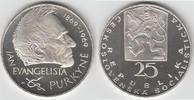 25 Kronen 1969 Tschechoslowakei Tschechoslowakei, 25 Kronen, '100. Tode... 99,00 EUR  zzgl. 5,00 EUR Versand