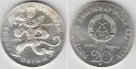 20 Mark 1986 Deutsche Demokratische Republik DDR, Gedenkmünze 20 Mark '... 219,00 EUR  zzgl. 4,00 EUR Versand