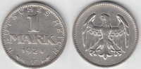 1 Mark 1924 F Weimarer Republik Weimarer Republik, Kursmünze 1 Mark 192... 9,50 EUR  zzgl. 5,00 EUR Versand